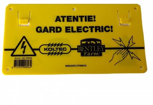 Semn avertizare gard electric - Gard Electric - Accesorii - Generatoare