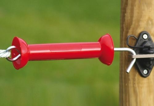 Maner poarta premium rosu - Gard Electric - Accesorii - Generatoare